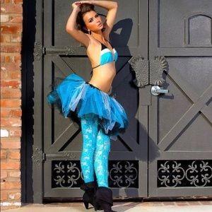 Dresses & Skirts - Blue White & Black Tulle Tutu